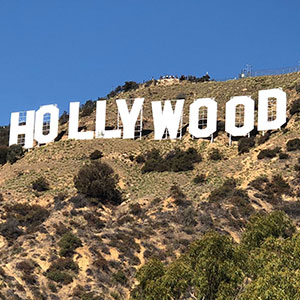 Hollywood Sign Grid Image300x300